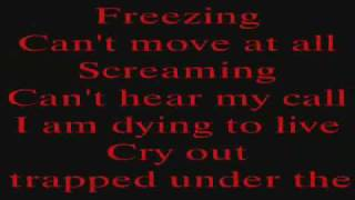 metallica trapped under ice with lyrics