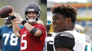 Jaguars Receiver YELLS at Blake Bortles: