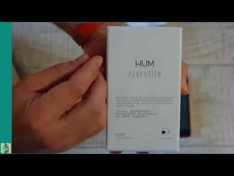 HUM Pervasion DAP unboxing and power-up