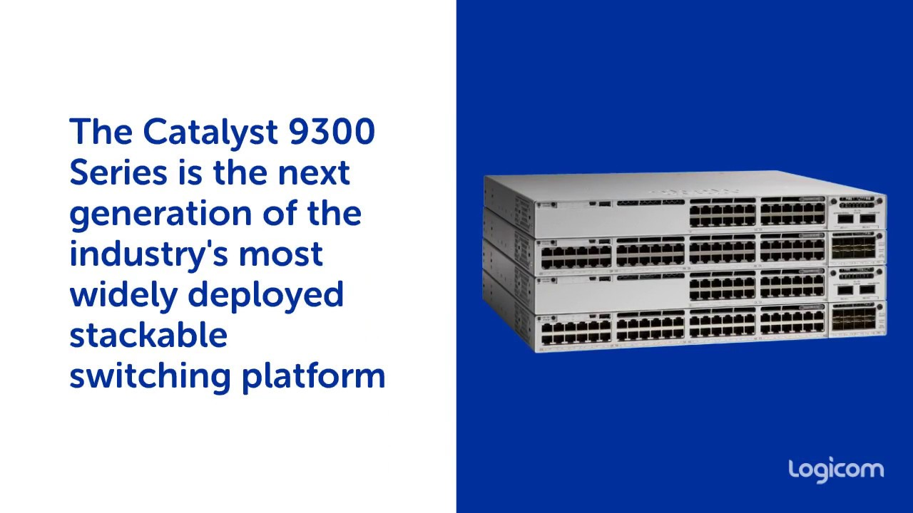 Cisco Catalyst 9300 by Logicom Distribution