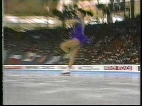 Midori Ito 伊藤 みどり (JPN) - 1991 Worlds, Ladies' Original Program
