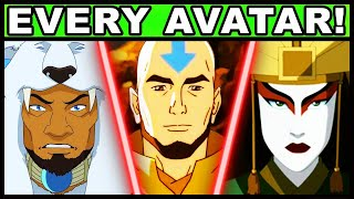 All 9 Known Avatars and Their Powers Explained! (The Last Airbender / Legend of Korra Every Avatar)