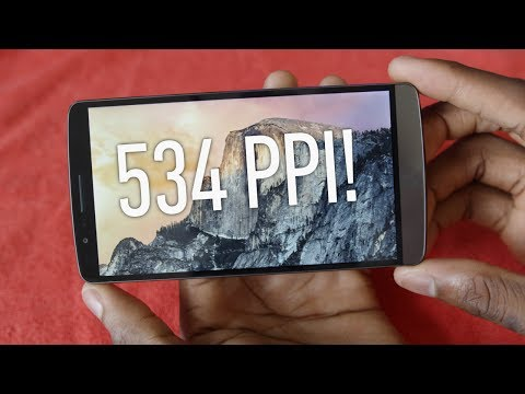 LG G3 QHD Display Review!