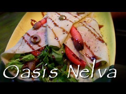 Best Organic Restaurant in Havana - Oasis Nelva Video (HD)