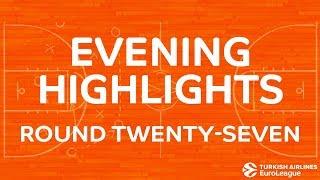 Tadim Evening Хайлайты: Regular Season, Round 27 - Wednesday