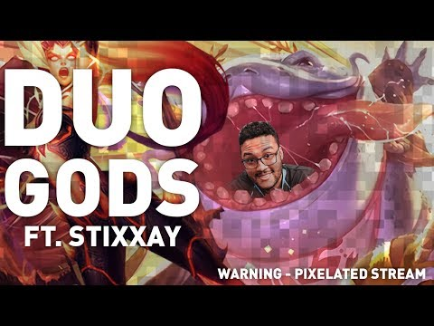 Aphromoo - DUO GODS | Tahm Kench, Zyra and Morgana Support Ft. Stixxay