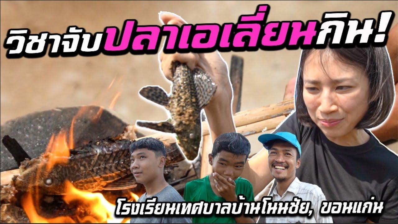 ขอนแก่น- จับปลาเทศบาลกิน!  Ep.2 | Catch Alien Fish to Eat, Khon Kaen