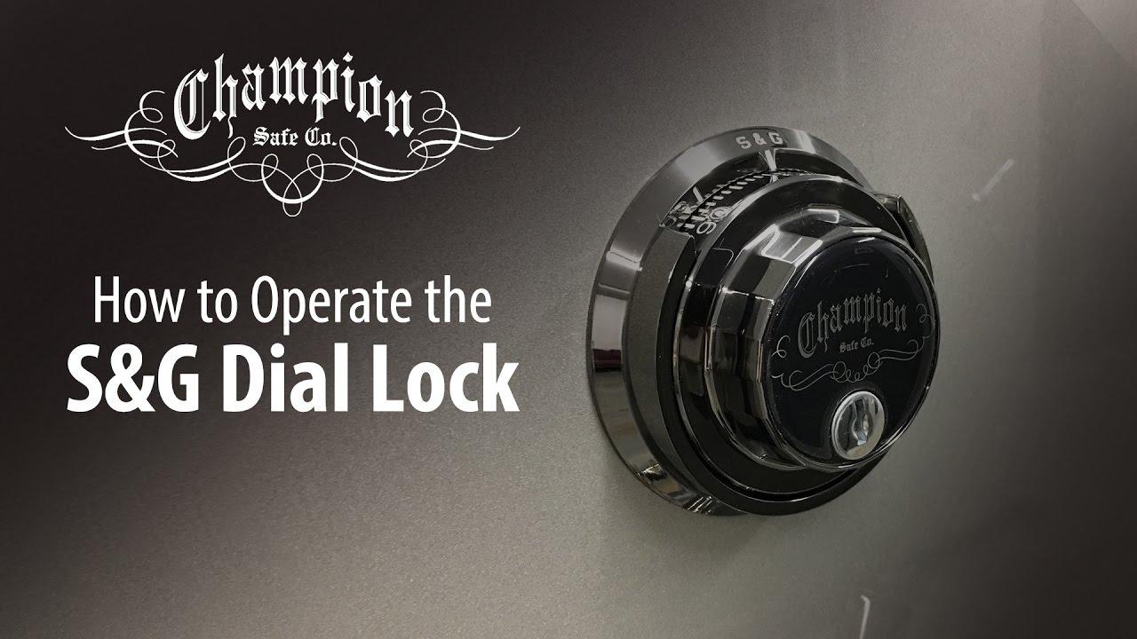 S Amp G Mechanical Lock Operation Youtube