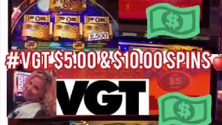 #VGT HIGH LIMIT ROOM SPINS AT KICKAPOO LUCKY EAGLE CASINO