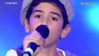 DanSing Junior (Live 3) - Kiriakos (Ston angelon ta bouzoukia) Video