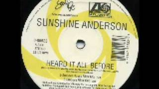 Sunshine Anderson - Heard It All Before (Dance Remixes) Ben Watt & E-Smoove