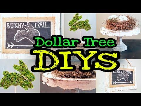 Dollar Tree DIY Farmhouse Spring Decor