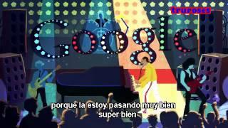 Freddie Mercury Google Doodle - Don't Stop Me Now (español)