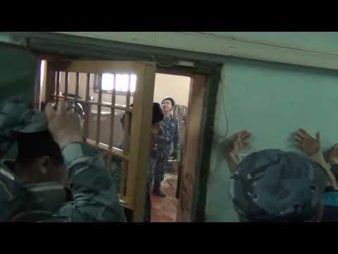 Обыск камеры СИЗО-4 г.Анжеро-Судженск.