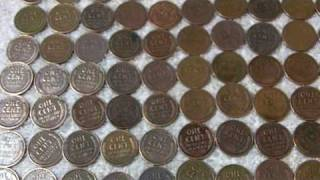 Cleaning Wheats,Indians,and Copper Coins Part 3 of 3.MOV