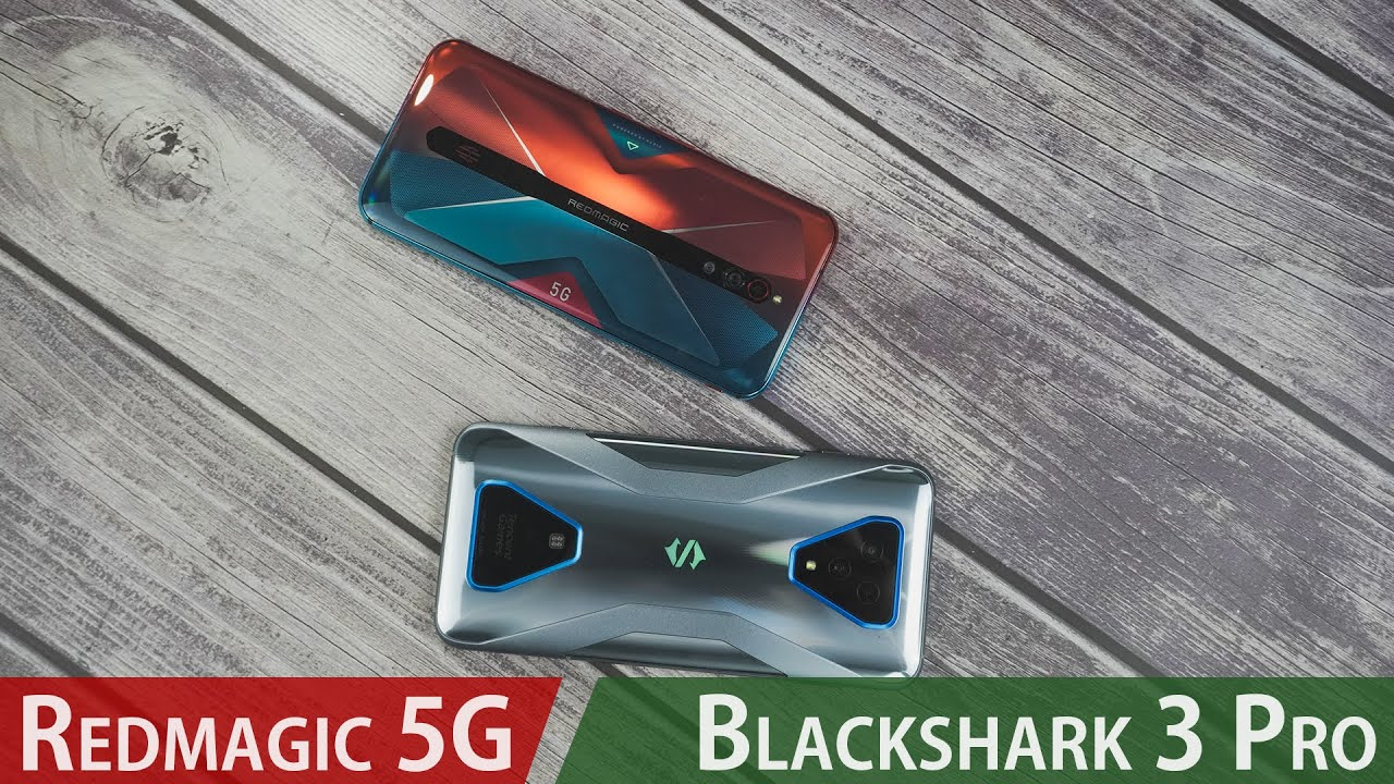 Black Shark 3 Pro vs Red Magic 5G comparison: BEST gaming phone in 2020