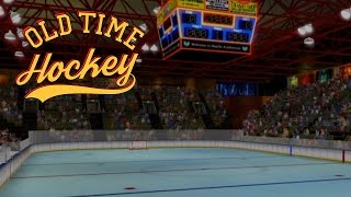 """Old Time Hockey (PS4 Xbox One, PC) """"Win a faceoff!"""""""