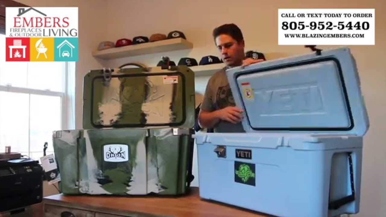 Yeti Coolers VS Orion Coolers Which one is better?