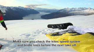 "Ozone 2014 De-Power Foils ""how to"" Setup, Safety Systems & Landing,..."