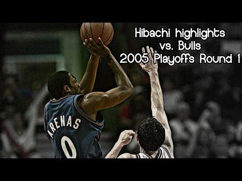 Gilbert Arenas 16 pts & game-winner (2005 NBA Playoffs R1G5 - Washington Wizards vs. Chicago Bulls)