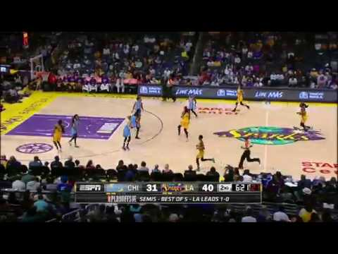 Candace Parker Shines; Sparks Take 2-0 Lead