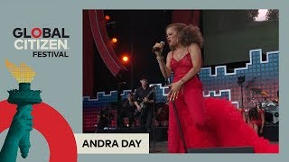Andra Day Performs 'Strange Fruit' | Global Citizen Festival NYC 2017