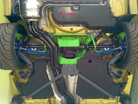 Jabba's BMW E46 M3 Underside Restoration by Redish Motorsport 2014