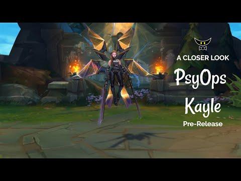 PsyOps Kayle Epic Skin (Pre-Release)
