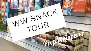 WW snack tour !!  Snacks available at my Weight Watchers Studio !!