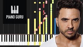Despacito - Luis Fonsi Ft. Daddy Yankee - IMPOSSIBLE PIANO Cover - Piano Guru