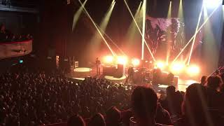 """At The Drive-in - """"No Wolf Like The Present"""" @ L'Olympia, Paris 28/02/2018"""
