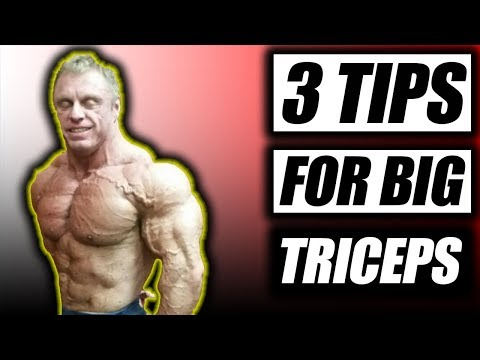 Top 3 Tips For Bigger Triceps & Healthy Elbows