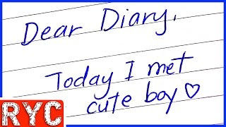 Reading YOUR Diary | Reading Your Comments