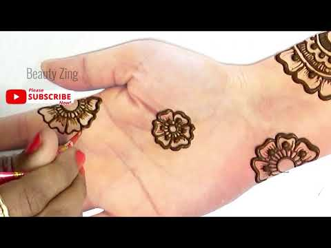 Simple Stylish Arabic Henna Mehndi Design 2019 for Hands !