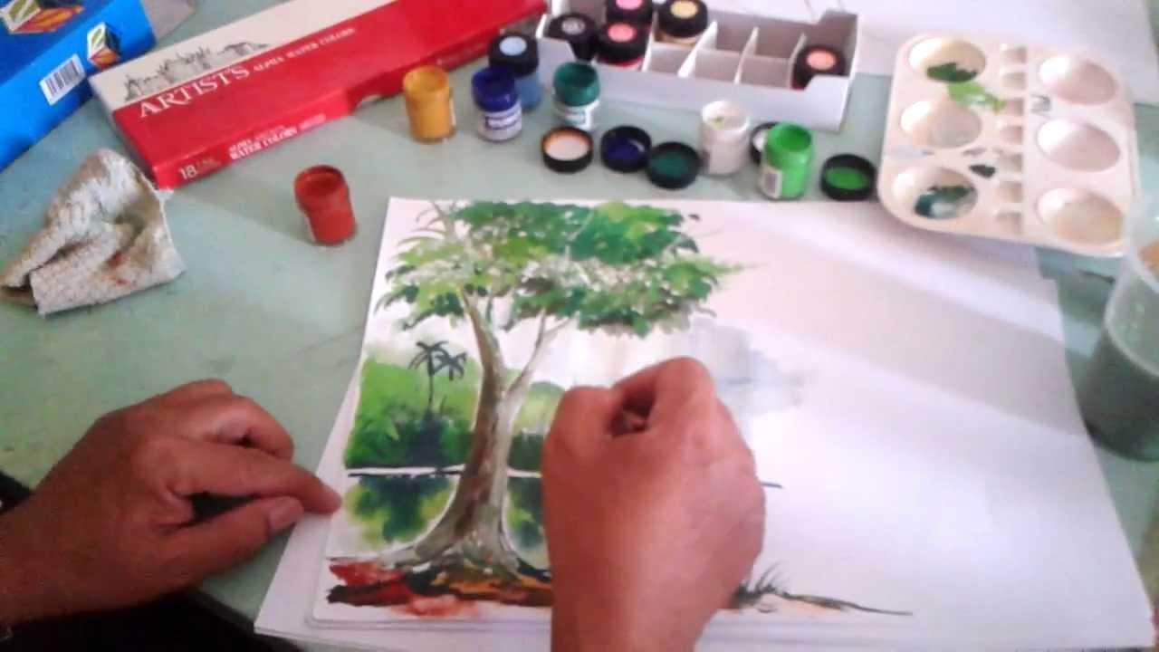 Lukisan Asas Warna Poster Part 2 Youtube