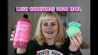 My Lush Christmas 2020 Haul | Things are getting a little Festive