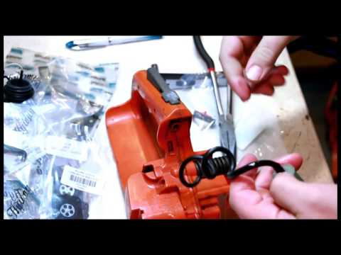how to fix or increase compression in a chainsaw