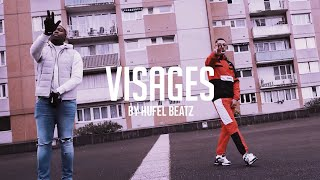 """Visages"" | Kaza X Maes X Ninho Type Beat | Instru rap 2021 (Prod. HuFel Beatz)"
