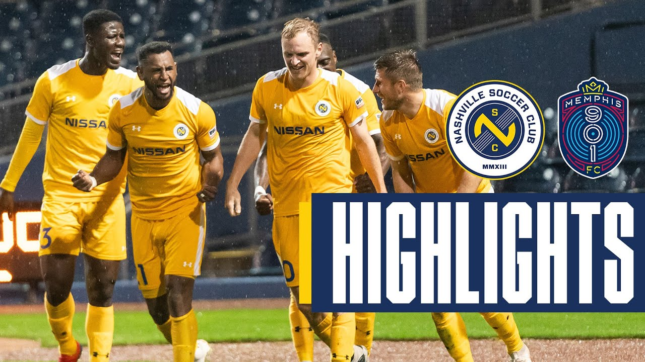 newest 64e17 4f327 4/13/19 - Nashville SC (2) @ Memphis 901 FC (0) highlights