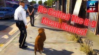 K-9 Chasing Suspects!   LEO #61   A-1 RP (FiveM Community)