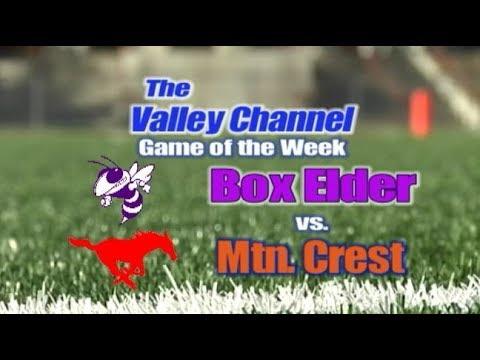 Box Elder High School at Mountain Crest High School football game 8-30-19
