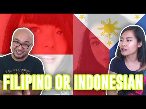 FILIPINO or INDONESIAN? Guess The Nationality Challenge! Lets PLAY!