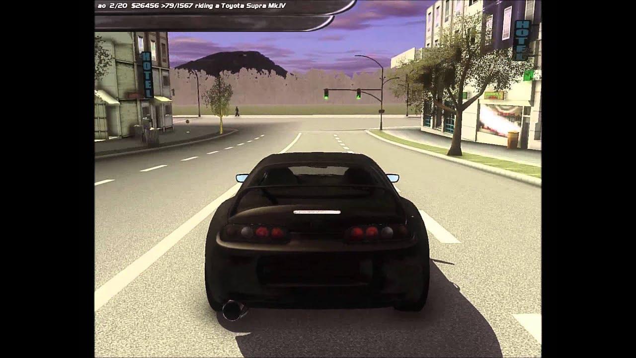 SLRR] Toyota Supra sound test @Valo City : LightTube