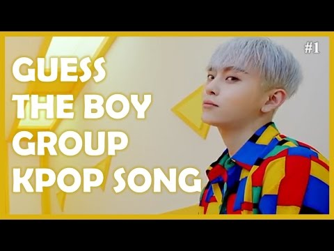 Guess the Kpop Song BOY GROUP EDITION #1
