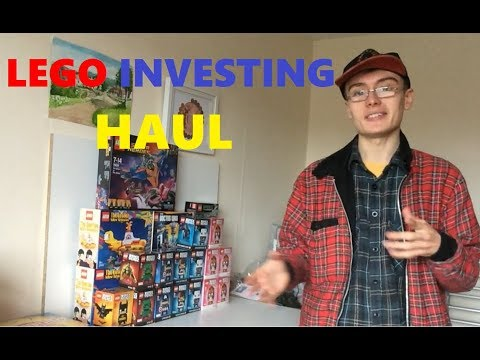 LEGO Investing Haul #1 | Adz Invests