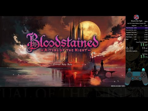 Bloodstained: Ritual of the Night in 14:37 Any% Major Glitches |