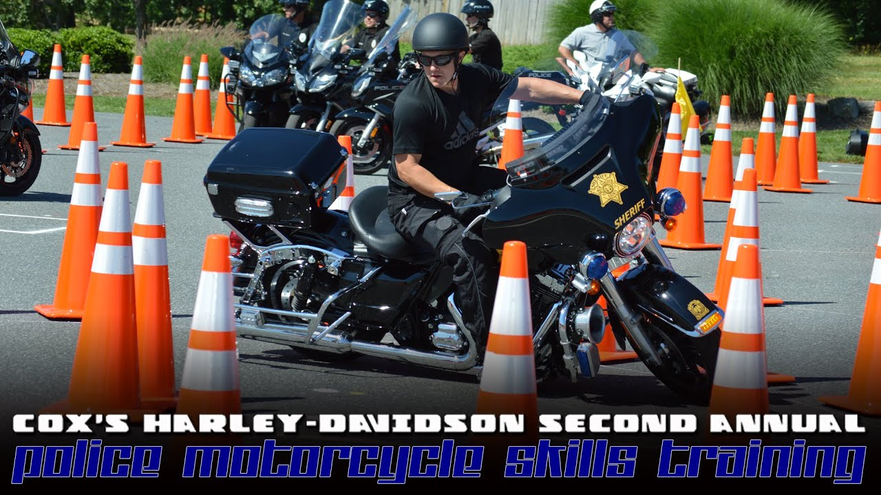 cox's harley-davidson 2016 police rodeo highlights - youtube