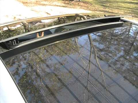 Toyota Prius Sunroof With Solar Panel Youtube