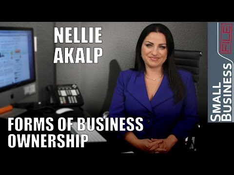 Forms of Business Ownership and Small Business News