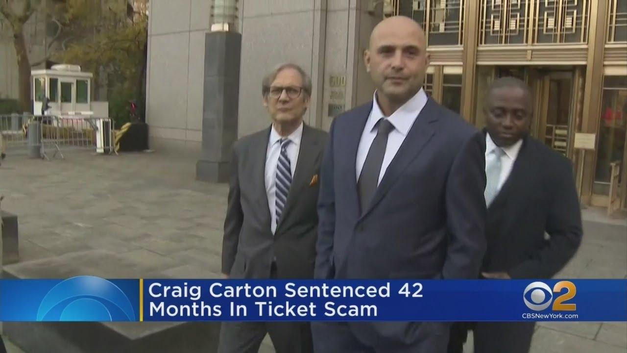 Ex-Sports Radio Host Craig Carton Sentenced in Ticket Resale Scheme